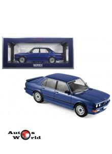 Macheta auto BMW 535i (1987) 1:18 albastru Norev