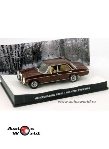Mercedes Benz 200D James Bond, 1:43 Eaglemoss