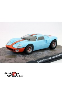 Ford GT40 James Bond  James Bond, 1:43 Eaglemoss