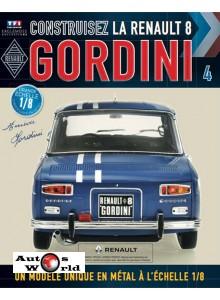 Macheta auto Renault 8 Gordini KIT Nr.4, scara 1:8 Eaglemoss