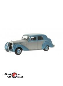 Macheta auto Bentley MK VI gri/albastru 1950, 1:43 Whitebox