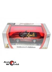 Pontiac Firebird convertible portocaliu, 1:43 Yatming