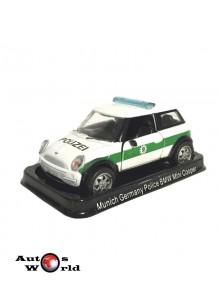 Masini de Politie nr14 - Macheta auto BMW Mini Cooper Germania, 1:43 Amercom