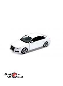 Macheta auto Audi A4 alb, 1:24 Welly