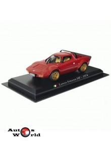 Masini De Legenda Nr. 2 - Macheta auto Lancia Stratos 1974, 1:43 Amercom