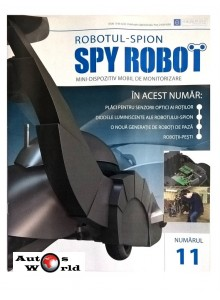 Colectia Spy Robot Nr 11 Kit de asamblat, Eaglemoss ...