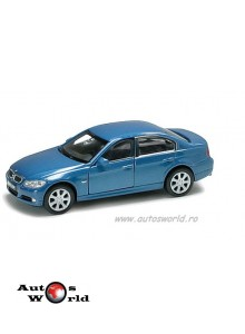 BMW 330i albastru, 1:32-36 Welly