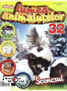 Lumea Animalutelor Nr.32 - Sconcsul, Amercom