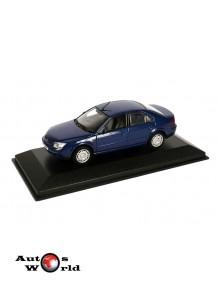 Macheta auto Ford Mondeo berlina 2001 albastru, 1:43 Minichamps