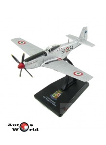 Macheta Avion North American F51K Mustang 155Th Gruppo  1:100
