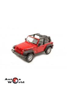 Macheta auto Jeep Wrangler Rubicon 2007, 1:24 Welly