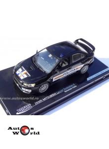 Mitsubishi Lancer Evo X Politia Romana, ed limitata, scara 1:43 Vitesse ...