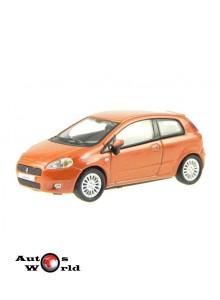 Macheta auto Fiat Grande Punto maro, 1:72 Cararama