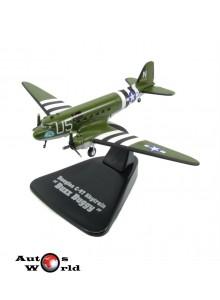 Macheta Avion Douglas C-47 Skytrain Buz Buggy Aereo 1933 US 1:144