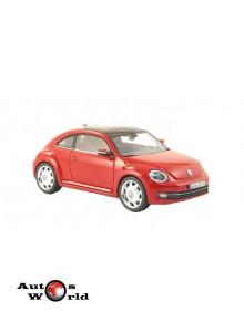 Macheta auto Volkswagen Beetle rosu 2014, 1:43 Schuco