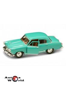Macheta auto Gaz Volga M21 verde 1957, 1:24 Lucky Diecast