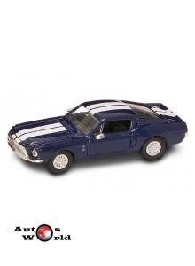 Ford Shelby GT-500KR albastru 1968, 1:43 Lucky Diecast