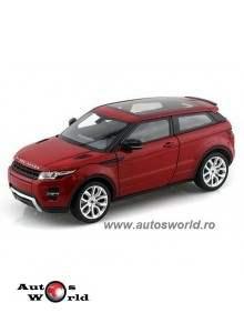 Land Rover Range Rover Evoque Rosu, 1:24 Welly