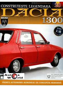 Macheta auto Dacia 1300 KIT Nr.28 - elemente pasaj roata spate, scara 1:8 Eaglemoss