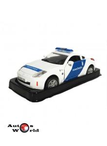 Masini de Politie nr12 - Macheta auto Nissan 350Z Ungaria, 1:43 Amercom