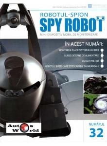 Colectia Spy Robot Nr 32 Kit de asamblat, Eaglemoss
