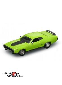 Plymouth GTX verde 1971, 1:43 Lucky Diecast