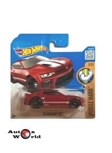 Macheta auto Chevrolet Camaro SS '16, 1:64 Hotwheels