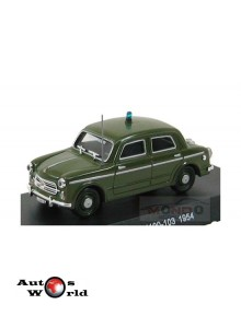 Macheta auto Fiat 1100-103 Carabinieri 1954, 1:43 Deagostini