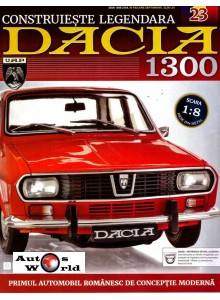 Macheta auto Dacia 1300 KIT Nr.23 - suport baterie, scara 1:8 Eaglemoss