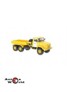 Macheta camion KrAZ 6446 B.T galben, 1:43 Special Co