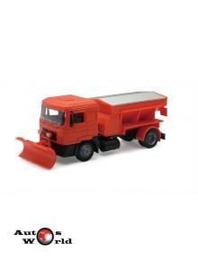 Macheta camion MAN F2000 deszapezire, 1:43 Newray