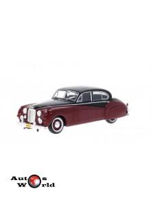 Macheta auto Jaguar MK VII visiniu/negru 1954, 1:43 Whitebox