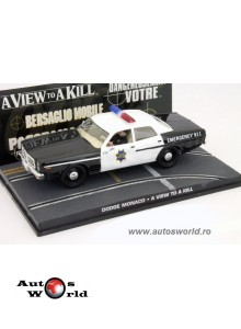 Dodge Monaco Police James Bond, 1:43 Eaglemoss