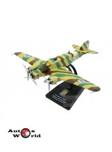 Macheta Avion Siai Marchetti Sm79 Sparviero Bombardier 252Th Sq. 1:100