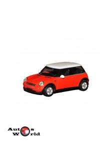 Macheta auto Mini Cooper rosu, 1:72 Cararama