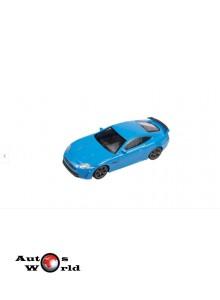 Macheta auto Jaguar XKR-S albastru, 1:43 Welly