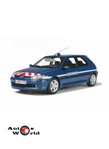 Macheta auto Peugeot 306 Gendarmerie BRI, 1:18 Otto Models