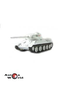 VM T34/85 alb Tank, 1:72 Eaglemoss