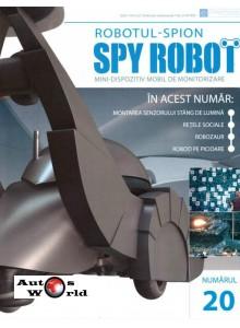 Colectia Spy Robot Nr 20 Kit de asamblat, Eaglemoss