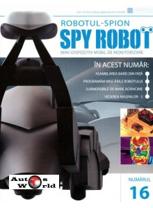 Colectia Spy Robot Nr 16 Kit de asamblat, Eaglemoss