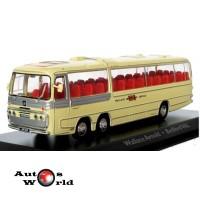 Macheta autobuz Bedford Val-Wallace Arnold, 1:76 Atlas ...