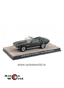 Aston Martin V8 Convertible James Bond, 1:43 Eaglemoss