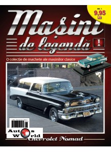 Masini De Legenda Nr. 1 - Macheta auto Chevrolet Nomad 1957, 1:43 Amercom