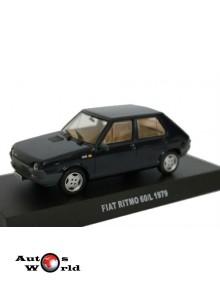 Macheta auto Fiat Ritmo 60L Carabinieri 1979, 1:43 Deagostini
