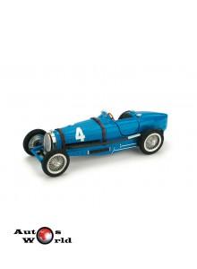 Macheta auto Bugatti TIPO 59 1934 GP.Belgia 1°DREYFUS, 1:43 Brumm