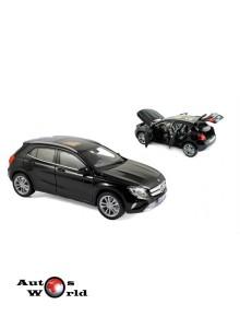 Macheta auto MERCEDES GLA (2014) 1:18 negru Norev