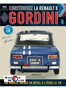 Macheta auto Renault 8 Gordini KIT Nr.8, scara 1:8 Eaglemoss