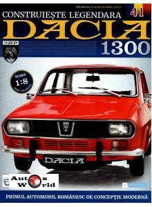 Macheta auto Dacia 1300 KIT Nr.41 - pasaj roata, scara 1:8 Eaglemoss