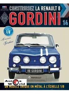 Macheta auto Renault 8 Gordini KIT Nr.14, scara 1:8 Eaglemoss