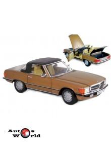 Macheta auto MERCEDES-BENZ 300SL (1986) 1:18 auriu Norev
